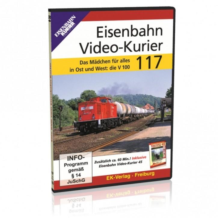 DVD: Eisenbahn Video-Kurier 117. Das Mädchen für alles in Ost und West: die V 100