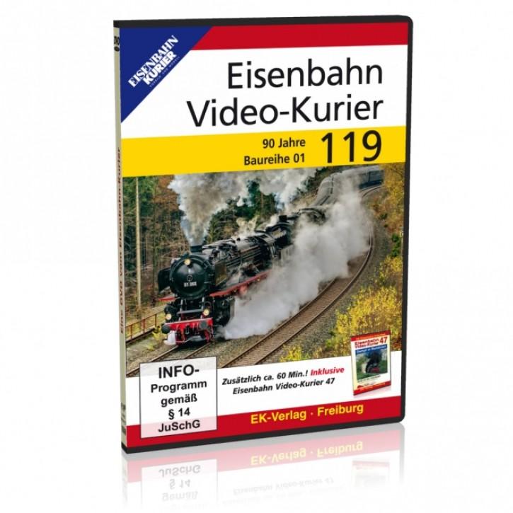 DVD: Eisenbahn Video-Kurier 119. 90 Jahre Baureihe 01