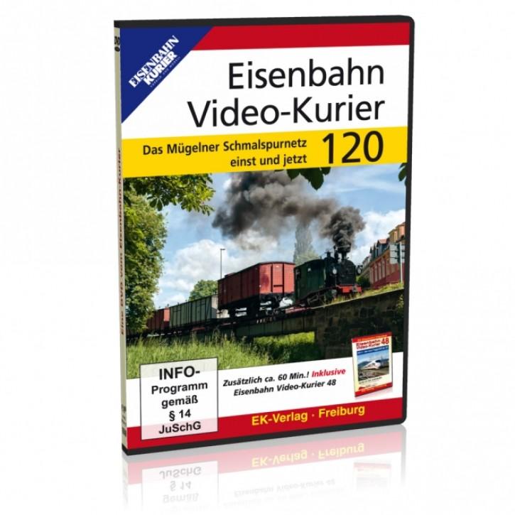 DVD: Eisenbahn Video-Kurier 120. Das Mügelner Schmalspurnetz einst und jetzt