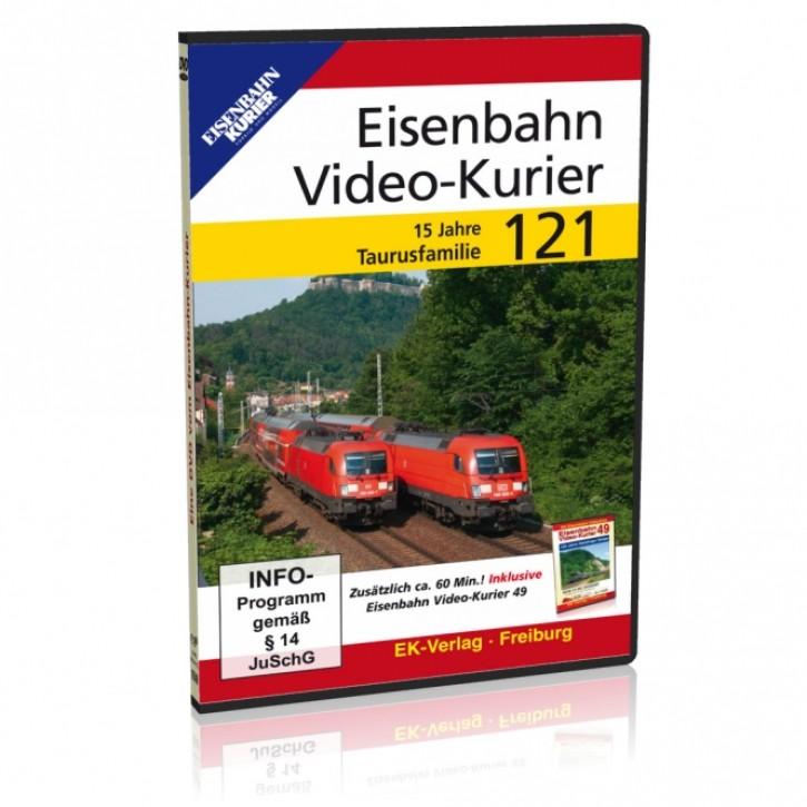 DVD: Eisenbahn Video-Kurier 121. 15 Jahre Taurusfamilie