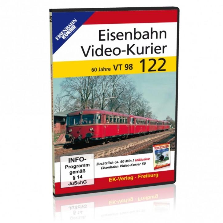 DVD: Eisenbahn Video-Kurier 122. 60 Jahre VT 98