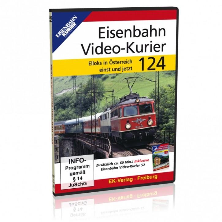 DVD: Eisenbahn Video-Kurier 124. Elloks in Österreich einst & jetzt