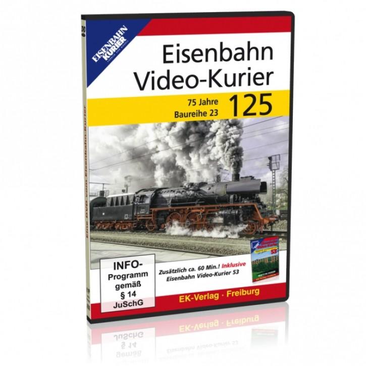 DVD: Eisenbahn Video-Kurier 125. 75 Jahre Baureihe 23