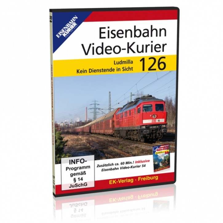 DVD: Eisenbahn Video-Kurier 126. Ludmilla - kein Dienstende in Sicht