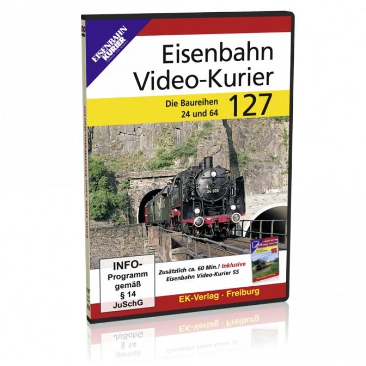 DVD: Eisenbahn Video-Kurier 127. Die Baureihen 24 und 64
