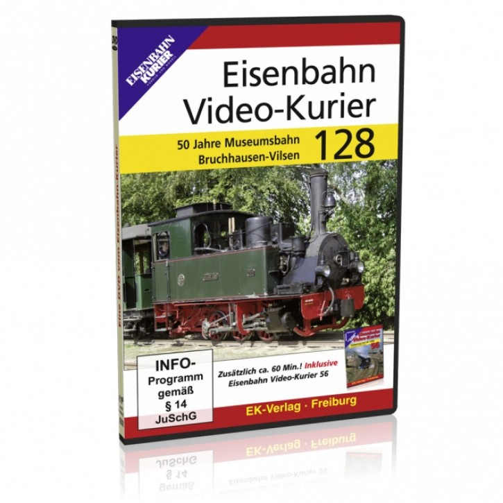 DVD: Eisenbahn Video-Kurier 128. 50 Jahre Museumsbahn Bruchhausen-Vilsen