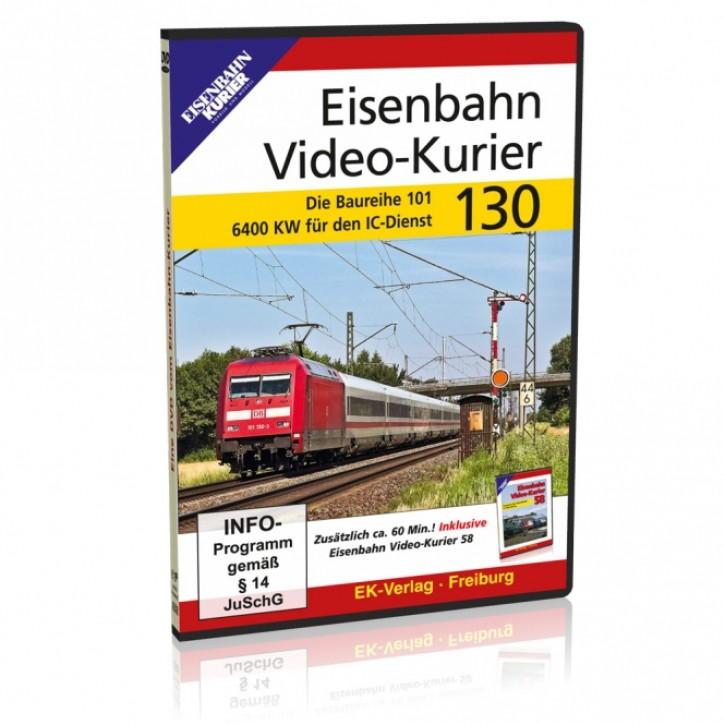 DVD: Eisenbahn Video-Kurier 130. Die Baureihe 101