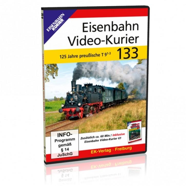 DVD: Eisenbahn Video-Kurier 133. 125 Jahre Baureihe preußische T9.1-3