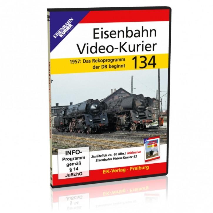 DVD: Eisenbahn Video-Kurier 134. 1957 - Das Rekoprogramm der DR beginnt