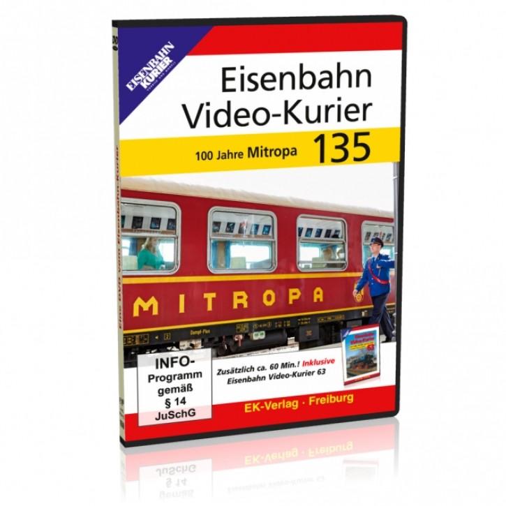 DVD: Eisenbahn Video-Kurier 135. 100 Jahre Mitropa