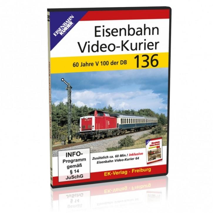 DVD: Eisenbahn Video-Kurier 136. 60 Jahre DB V 100