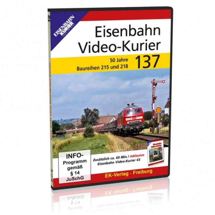 DVD: Eisenbahn Video-Kurier 137. 50 Jahre Baureihen 215 und 218