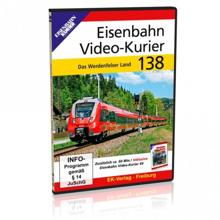 DVD: Eisenbahn Video-Kurier 138. Das Werdenfelser Land