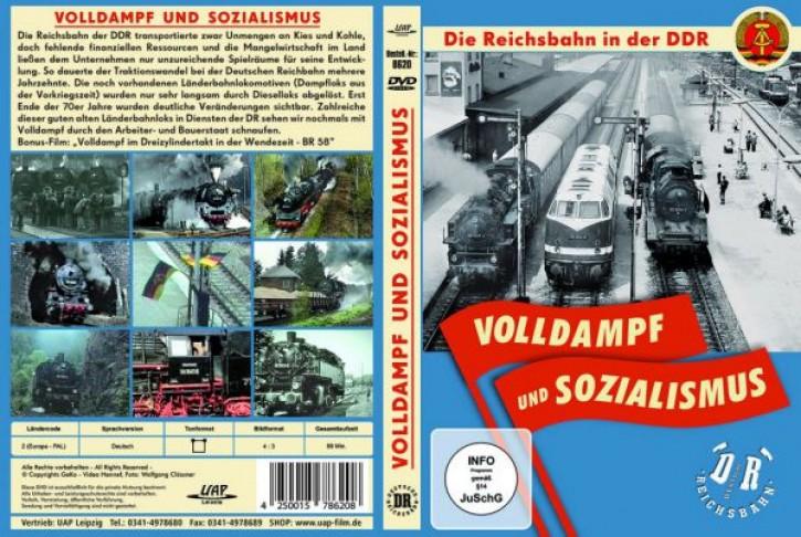 DVD: Volldampf und Sozialismus - Die Reichsbahn in der DDR