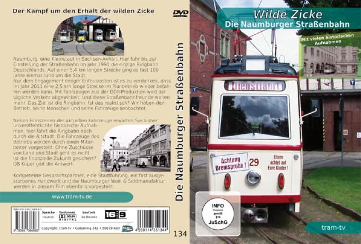 DVD: Wilde Zicke - Die Naumburger Straßenbahn