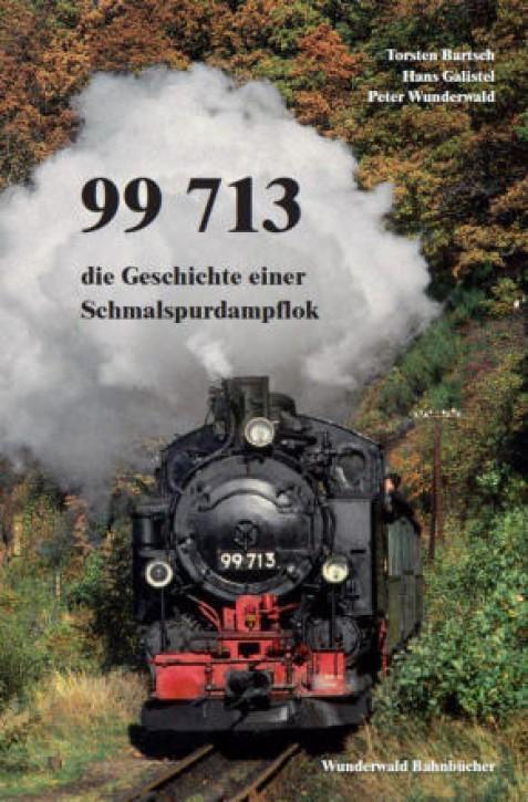 99 713 – Die Geschichte einer Schmalspurdampflokomotive. Torsten Bartsch, Hans Galistel und Peter Wunderwald