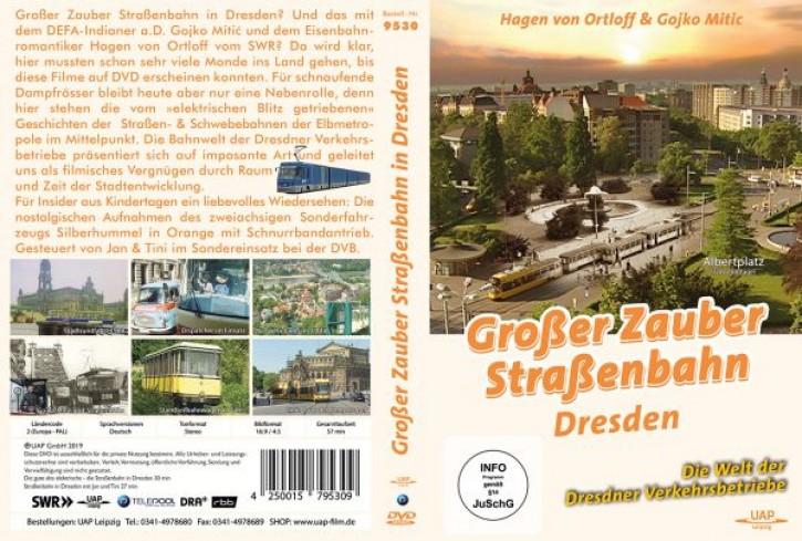 DVD: Großer Zauber Straßenbahn. Die Welt der Dresdner Verkehrsbetriebe