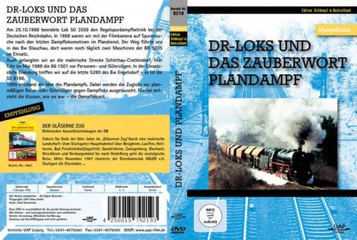 DVD: DR-Loks und das Zauberwort PLANDAMPF