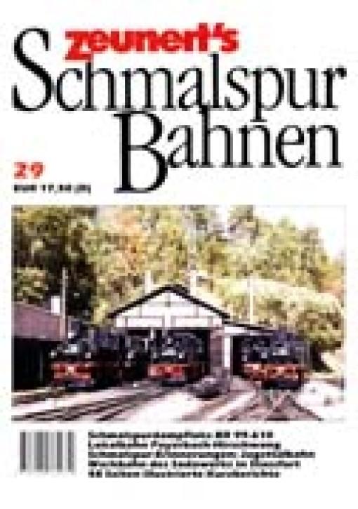 Zeunerts Schmalspurbahnen Band 29