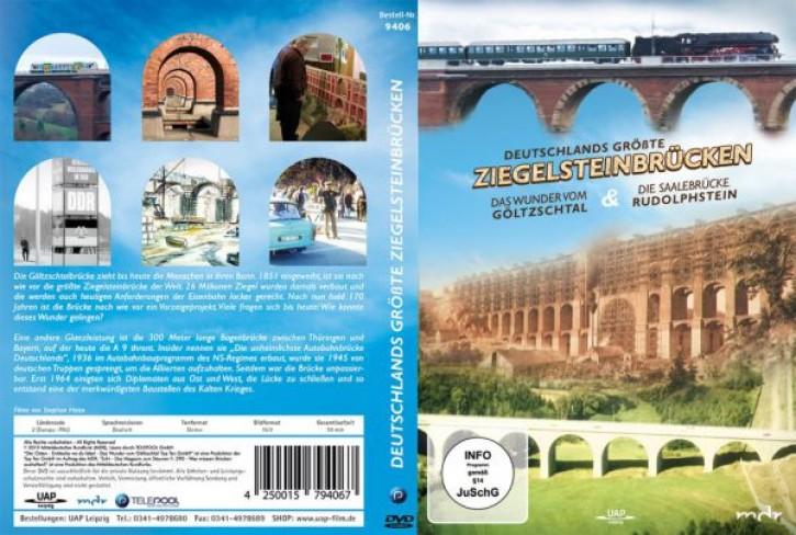 DVD: Deutschlands größte Ziegelsteinbrücken. Das Wunder vom Göltzschtal & Die Saalebrücke Rudolphstein