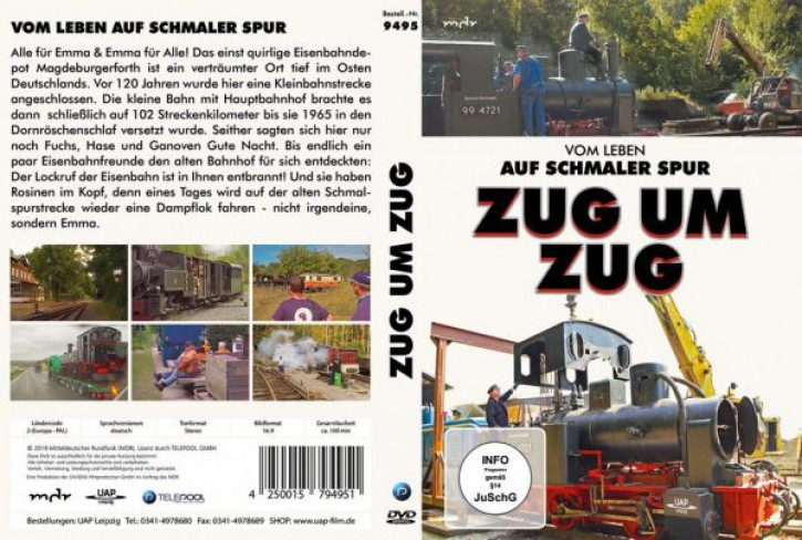 DVD: Zug um Zug. Vom Leben auf schmaler Spur