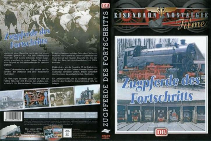 DVD: Zugpferde des Fortschritts - DB-Dampfloks